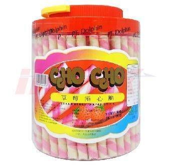 CHO CHO Strawberry Wafer Stick 700gr