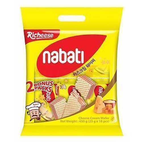 RICHEESE Nabati Cheese Wafer 450g