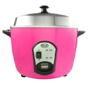 CLC Stainless Steel Rice Cooker 220V (PINK)