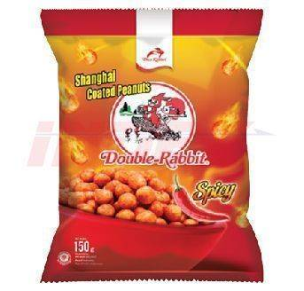 DUA KELINCI Coated Peanuts Spicy