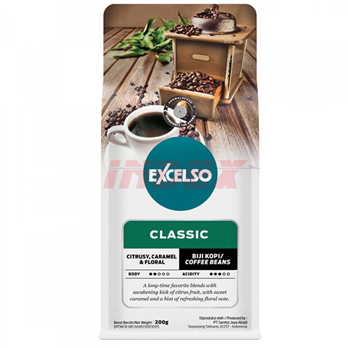 EXCELSO The Classic Beans 200g