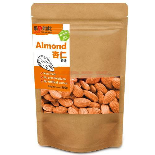 JANES TREASURES Almond Maple Sugar  200g